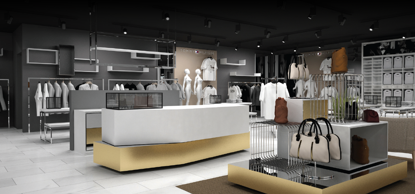 We design stores specifically for each location with customer in mind