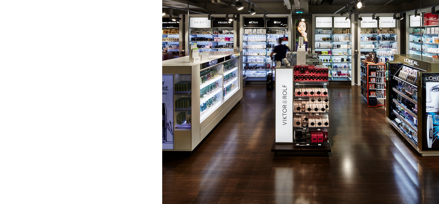New Duty Free store at Stockholm Skavsta Airport