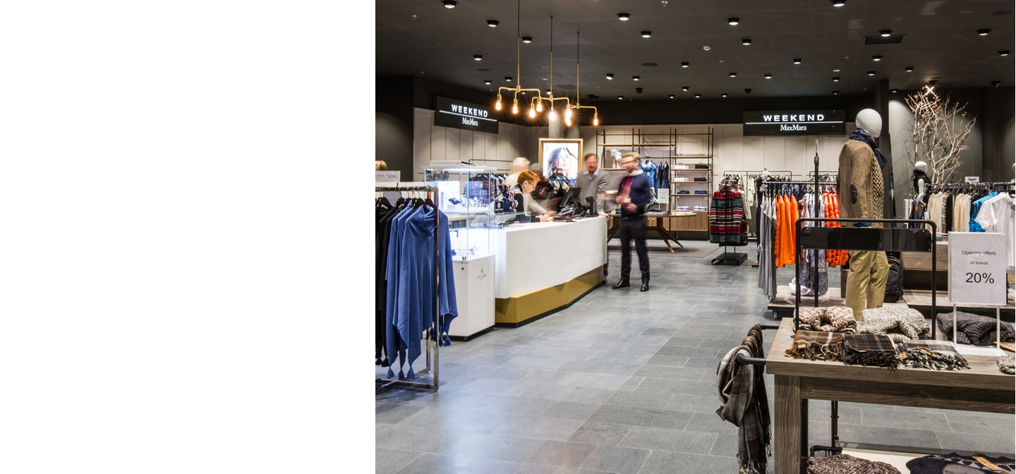 ARG also operates single brand stores and shop-in-shops from well recognized brands.